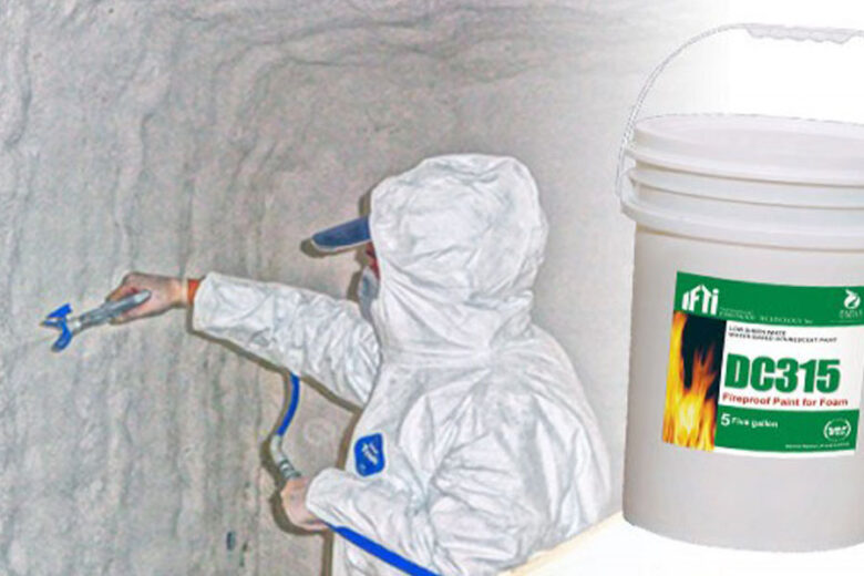 Fireproofing Spray Foam